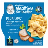 Gerber Pick-ups Turkey & Vegetable Ravioli Toddler Meal