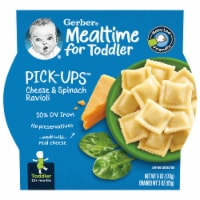Gerber Pick-ups Cheese & Spinach Ravioli Toddler Meal
