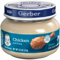 Gerber 2nd Foods Chicken and Gravy Baby Food