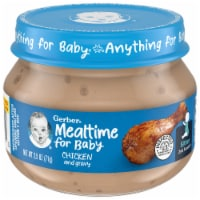 Gerber 2nd Foods Chicken and Gravy Stage 2 Baby Food - 2.5 oz