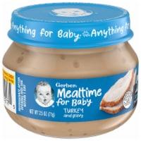 Gerber 2nd Foods Turkey and Gravy Baby Food - 2.5 oz