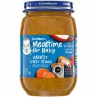 Gerber® Mealtime for Baby Harvest Turkey Dinner Stage 3 Baby Food - 6 oz