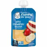 Gerber® Apple Strawberry Banana Stage 2 Baby Food - 3.5 oz