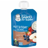 Gerber Toddler Fruit & Yogurt Very Berry Pouch