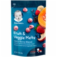 Gerber Very Berry Blend Fruit & Veggie Melts
