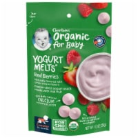 Gerber Organic Red Berries Yogurt Melts Snack