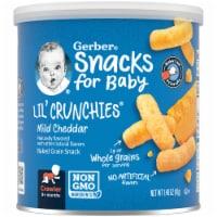 Gerber Lil' Crunchies Mild Cheddar Baked Corn Snack