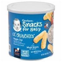 Gerber Lil' Crunchies Veggie Dip Baked Corn Snack
