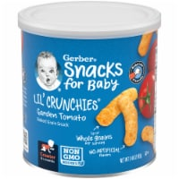 Gerber Crawler Lil' Crunchies Garden Tomato Baked Corn Baby Food Snack