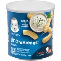Gerber Crawler Lil' Crunchies Ranch Baked Corn Snack