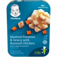 Gerber Mashed Potatoes & Gravy with Roasted Chicken Toddler Lil' Entree