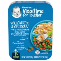 Gerber Yellow Rice & Chicken with Vegetables in Sauce Toddler Meal