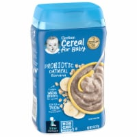 Gerber Banana Stage 2 Probiotic Oatmeal Cereal
