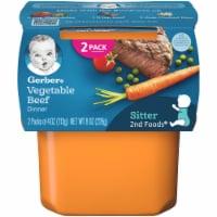 Gerber 2nd Foods Nutritious Dinner Vegetable Beef