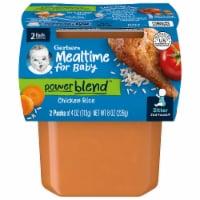 Gerber Chicken Rice 2nd Foods Dinner 2 Count