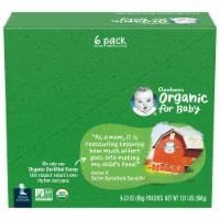 Gerber Organic 2nd Foods Apple & Peach Baby Food