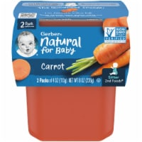 Gerber 2nd Foods Carrots Baby Food
