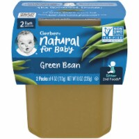 Gerber 2nd Foods Green Beans Baby Food 2 Count
