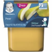 Gerber 2nd Foods Pear Baby Food 2 Count