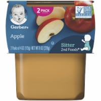 Gerber Apple Stage 2 Baby Food 2 Count