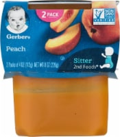 Gerber 2nd Foods Peach Stage 2 Baby Food