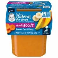 Gerber 2nd Foods Banana Carrot & Mango Baby Food