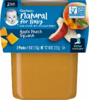Gerber Apple Peach & Squash Stage 2 Baby Food