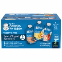 Gerber Toddler Variety Pack Baby Food 9 Count