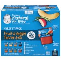Gerber 2nd Foods Fruit & Veggie Favorites Variety Pack