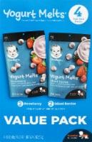 Gerber Yogurt Melts Freeze-Dried Yogurt Snacks 4 Count