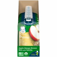 Gerber Organic 2nd Foods Apple Mango Brown Rice with Vanilla Baby Food