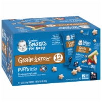 Gerber Puffs to Go Crawler Strawberry Apple