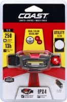 Coast FL13 LED Dual Color Headlamp - White/Red