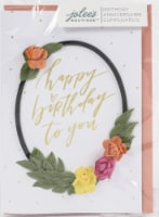 Jolees Boutique Greeting Card-Birthday Wreath - 1