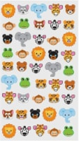 EK Success Sticko Zoo Faces Sticker Sheet - 45 pc