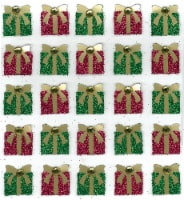 Jolee's Cabochon Dimensional Repeat Stickers-Christmas Present Repeats - 1
