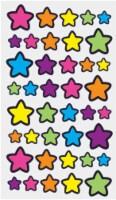 EK Success Sticko Foil Technicolor Star Sticker Sheet - 40 pc