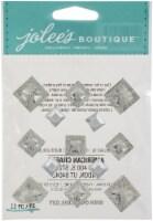 Jolee's Boutique Themed Embellishment-Diamond Pyramid Gems - 1