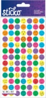 Sticko Silly Faces Sticker Sheet - 91 pc