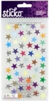 Sticko Trendy Stars Sticker Sheet - 56 Piece