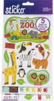 Sticko Themed Flip Pack Stickers 150/Pkg-Zoo - 1