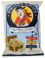 Pirate's Booty Aged White Cheddar Baked Rice & Corn Puffs - 10 oz
