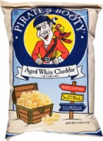 Pirate's Booty Aged White Cheddar Rice & Corn Puffs