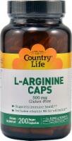 Country Life L-Arginine Capsules
