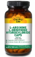 Country Life  L-Arginine L-Ornithine Hydrochloride Caps