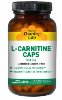 Country Life L-Carnitine 500 mg Vegan Capsules