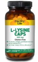 Country Life L-Lysine Capsules