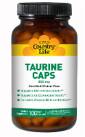 Country Life Taurine 500 mg Vegan Capsules