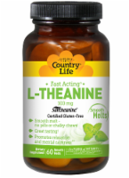 Country Life Fast-Acting L-Theanine Smooth Melts 100mg