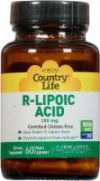 Country Life R-Lipoic Acid 100 mg Vegan Capsules